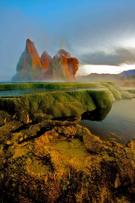 آب گرم ایالت نوادای امریکا