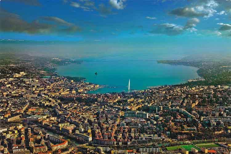 ژنو شهری زیبا در اروپا