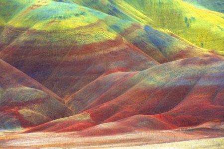 کویری زیبا شبیه تابلو نقاشی