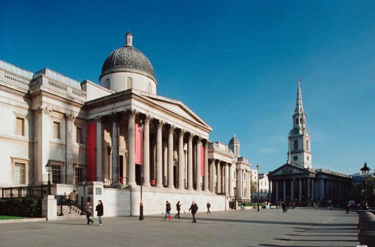 نگارخانه ملی لندن (The National Gallery)