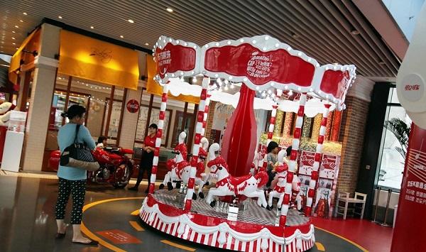 اولین رستوران کوکاکولا در شانگ های
