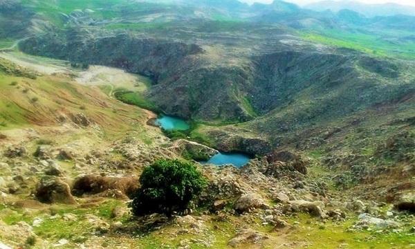 دریاچه سیاه گاو | ایلام