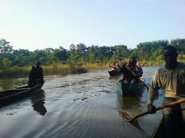 دریاچه ولتا، غنا