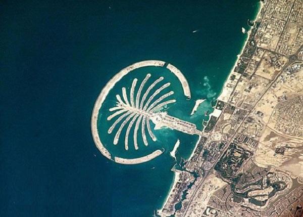 جمیرا (Palm Jumeirah) در امارات متحده عربی
