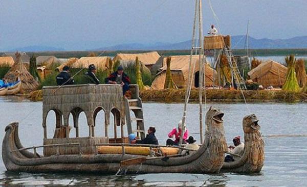 جزیره شناور اروس