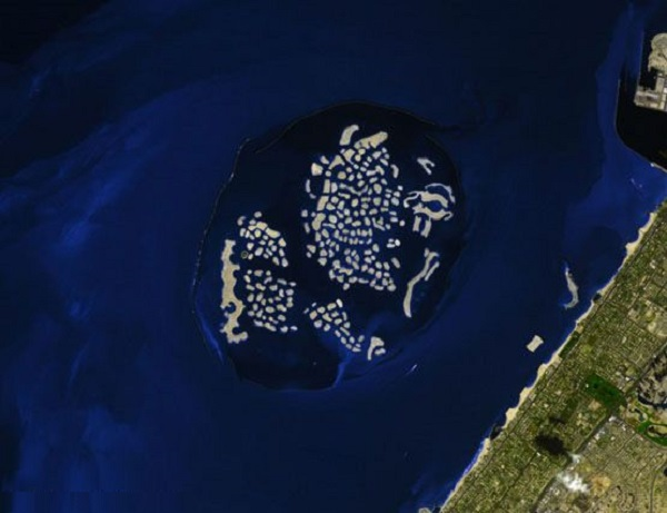 جزیره جهان (The World) در دوبی