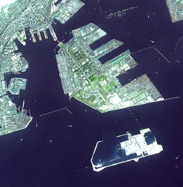 پورت آیلند(Port Island) در ژاپن