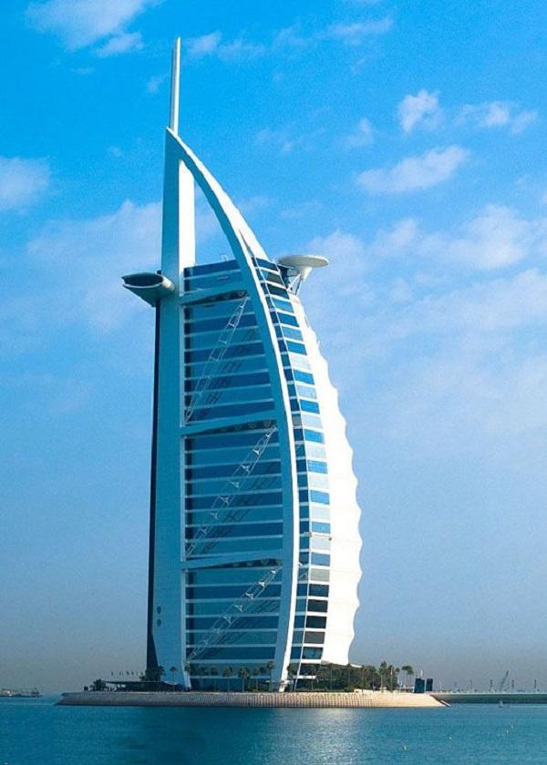 جزیره برج العرب در دوبی