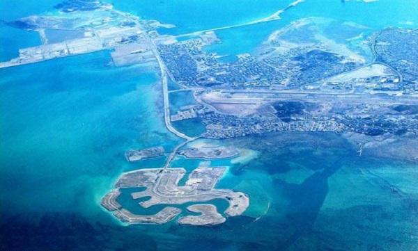 جزایر امواج (Amwaj) در بحرین