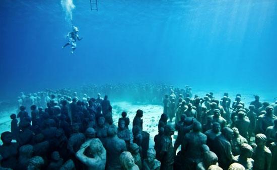 موزهی دیدنی در کف دریا