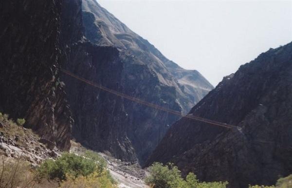 پل هیجان انگیز در ایران