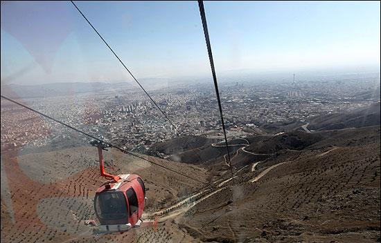 مکان های خنک برای فرار از گرمای تهران