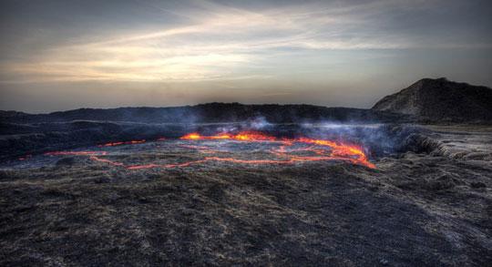 کوه آتشفشان Erta، اتیوپی