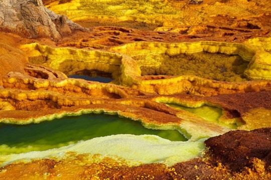 صحرای داناکیل، اریتره