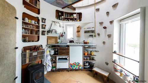 خانه های عجیب و غریب اروپایی