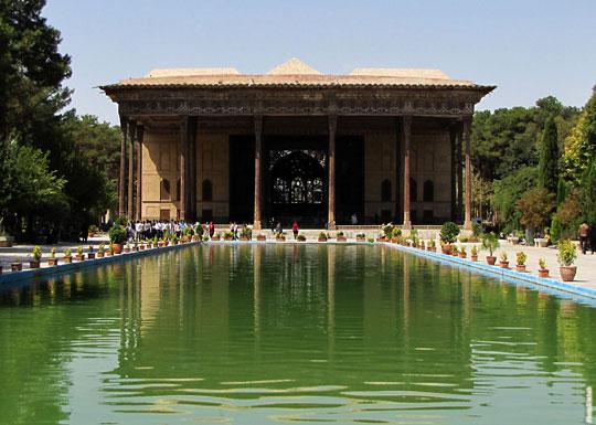 باغ چهل ستون اصفهان