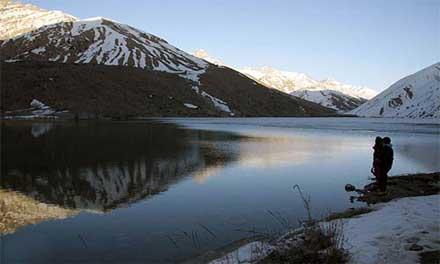 دریاچه ای با قدمت بیش از 30 میلیون سال در ایران