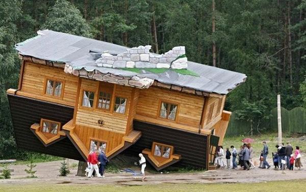 خانه ای عجیب در لهستان