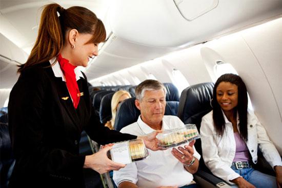 همه چیز در مورد غذاهای هواپیما