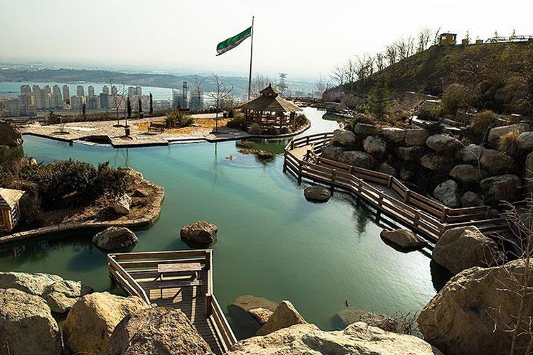 اکوسیستم متفاوت دریاچه چیتگر در تهران