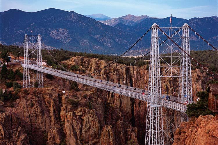 پل رویال جورج (Royal Gorge)، کلرادو