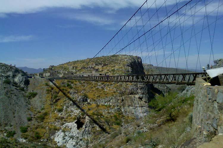 پل پونته اوجلا (Puente de Ojuela)، مکزیک