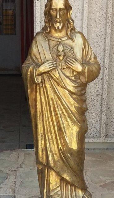 تندیس کشف شده حضرت عیسی در فریدون شهر