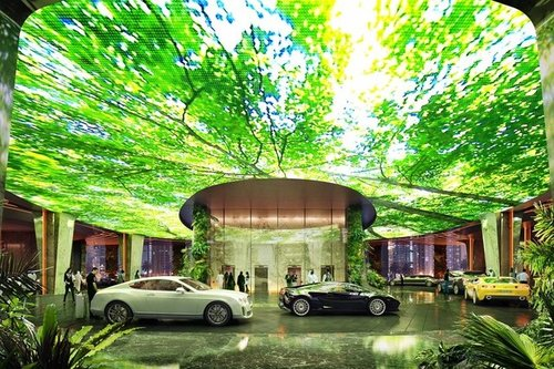 هتلی با آب و هوای استوایی در دبی