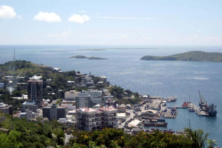 پورت مورسبی، پاپوآ گینه نو