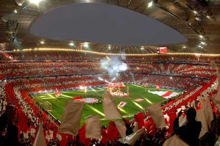 مسیر استادیومهای فوتبال
