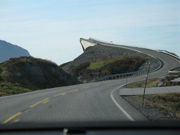 زیباترین پل و جاده در نروژ