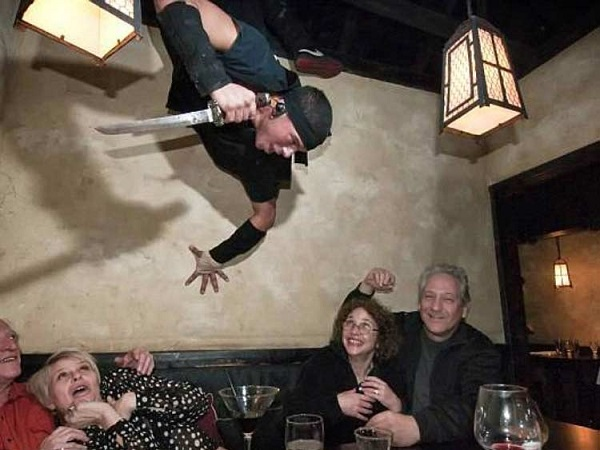 رستوران نینجا، نیویورک سیتی