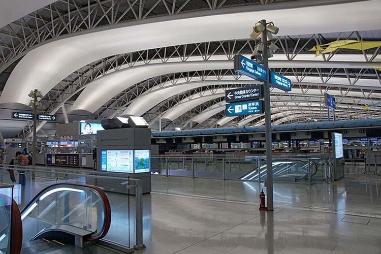 کانسای ، عجیب ترین فرودگاه جهان در ژاپن