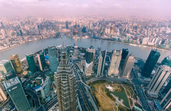 آسمان خراش جین مائو؛ شانگهای به ارتفاع 1380 پا
