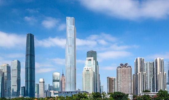 برج مرکز مالی CTF گوانژو؛ چین به ارتفاع 1740