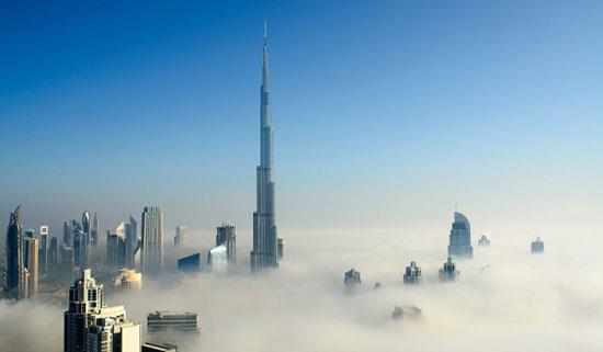 برج خلیفه؛ دبی به ارتفاع 2717 پا