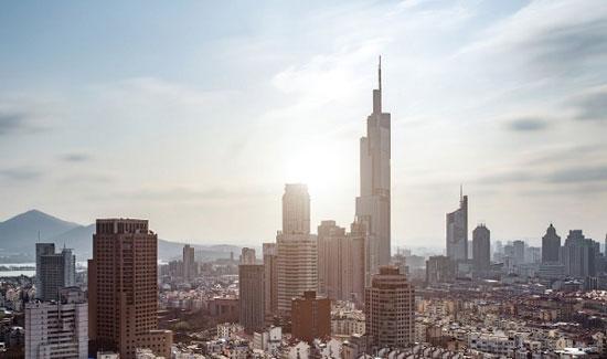 برج زیفنگ نانجینگ؛ چین به ارتفاع 1476 پا