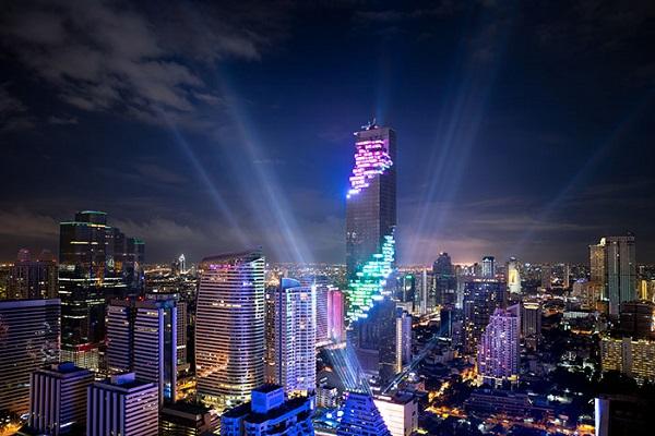 افتتاح بلندترین ساختمان تایلند در بانکوک