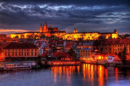 پراگ ، شهر کارت پستالی اروپا
