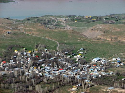 روستای میناوند در طالقان