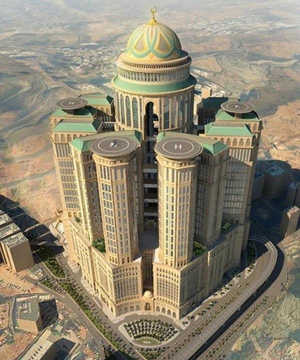 سال آینده بزرگترین هتل جهان در مکه