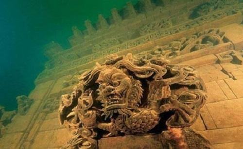شی چنگ ، شهری زیر آب در چین