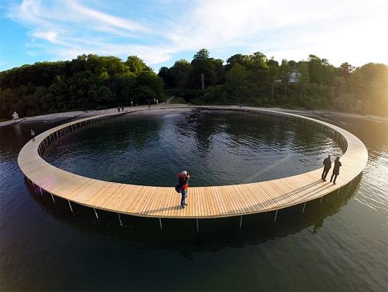 پل بی نهایت پلی متفاوت در دانمارک