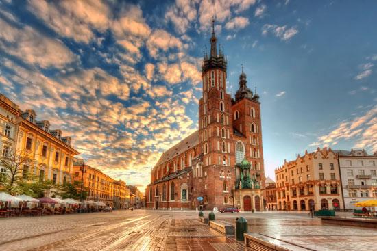 کراکوف ، شهر جادویی لهستان
