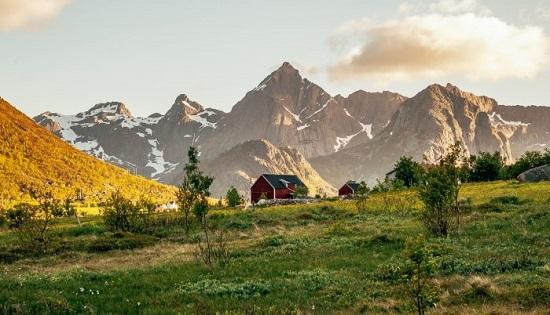 تصاویر دیدنی از طبیعت زیبای نروژ
