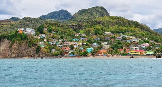 جزیره ایی زیبا در دریای کاراییب