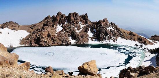 دریاچه سبلان در اردبیل