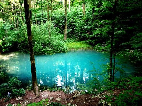 دریاچه های حیرت انگیز در رومانی