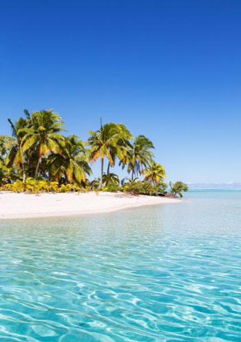 ساحل One Foot Island Beach؛ جزایر کوک