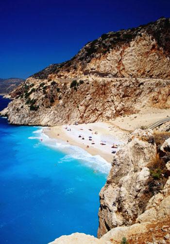 ساحل Kaputas Beach؛ ترکیه
